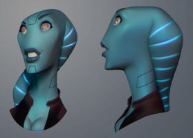 Patri Face 06 by polyphobia3d