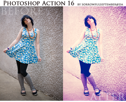Photoshop Action 16 by SorrowfulSeptember