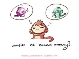 Vampire or zombie by Zeng