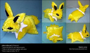 Jolteon pillow pet 2 by Neon-Juma