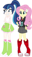 Gleaming Shield Fluttershy Clothes swap by Alkonium