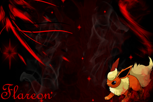 Flareon Wallpaper by SlaveWolfy