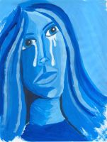 Girl Crying by faryewing