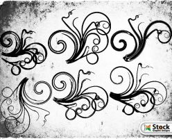 Free Floral Vector by Stockgraphicdesigns