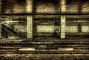 Chambers Street Subway IV by marcialbollinger