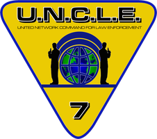 Special Request UNCLE Badge by viperaviator