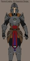 DA Inquisitor Final Cosplay Design by Immobliss