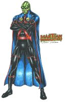 Martian Manhunter (J'onn J'onzz) by kiborgalexic