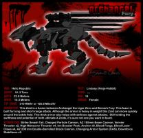 Zoids: Archangel Fury by FragmentChaos