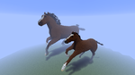 Minecraft - Horses by Ludolik