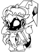 [COMMISSION SKETCH] - SPIRAL KING JELLY by LilChu