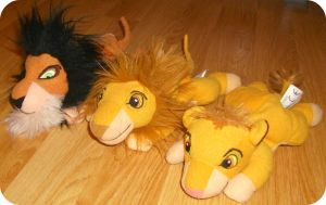 My Scar, Mufasa, Simba Beanies by DrOpDeAdShElLy