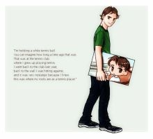 Roger Federer from ITF Olympic Book by 32929wt