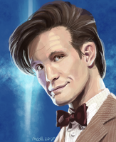 The 11th Doctor Muro by medli20