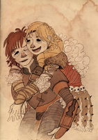 HTTYD: save a dragon, ride a Viking by Midnight-Helena