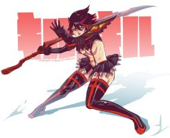 Kill la Kill - Ryuko III by Sonellion
