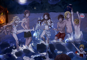 The Beach is More Fun After Dark by HachiJinkx