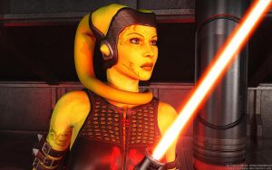 Portrait of a Twi'lek by Dendory