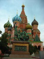 St. Basil's cathedral II by Jucali