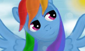 rainbow dash 3ds paint by wolfgangthe3rd
