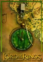 Hobbit Pocket Watch Badge by MadMouseMedia