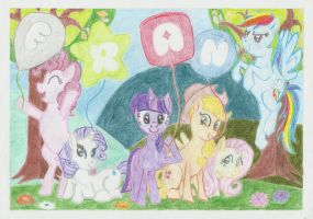 My Little Pony pic for my little girl by conradknightsocks