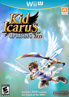 Kid Icarus: Uprising HD - Wii U Box Art by TuffTony