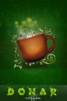 DONAR coffee adv by ImagineShop