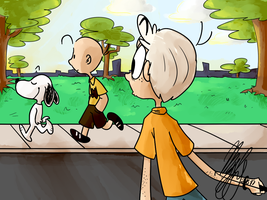 A Normal Morning Walk by Ice-Cream-Pizza