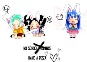 Commission - No Sch Violence by bunnify