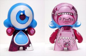 Mid munny 3 by thehermitdesign