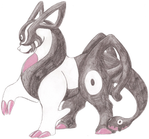 Fakemon Kimerent by Rememorable