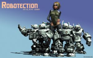 Robotection by metabolid