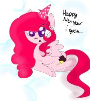 Quick New Year's Drawing~ by CloudsofCrystal