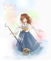 Yuna for Victor by yinsey