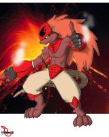 Igni the fire mouse by Reagan700