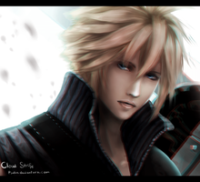 FF - Cloud Strife (Doodle) by Pinlin