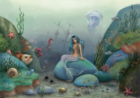 Mermaid1 by Joya-Filomena