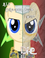 MLP - Two Sides of Chip Hayzard by Shadowpredator100