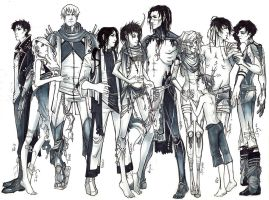 MASCHINELL CAST. by retromortis