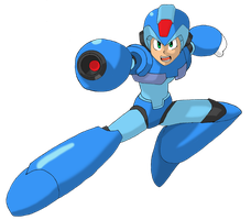 Megaman X by Whatsome