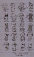 Original Characters- The Little Siders Set3 by DarkOliver