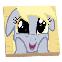 .:MLP Icon:. Stickies by TheRandomPegasister