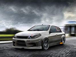 Renault Megane Racing Car by MWPHOTO
