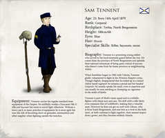 Tennent Character Sheet by XenonRay
