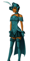 Elara Makesa Noble Lady SWTOR fashion by WickedJut by Aliens-of-Star-Wars