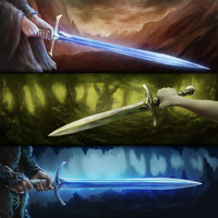 Blades of Gondolin by Elucidator