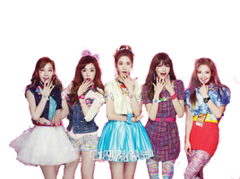 SNSD Taeyeon,Tiffany,Yoona,Sooyoung,Hyoyeon ~PNG~ by JaslynKpopPngs