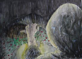 Death in the Rose Garden by TheRootOfAllEvil