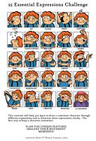 25 Expressions by seanmclean